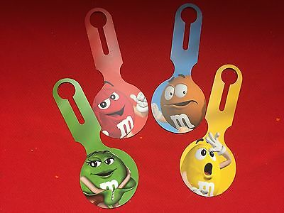 M&M Luggage Tags (Set of 4)