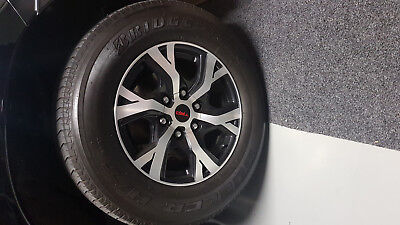 "Toyota TRD 17"" wheels and Bridgestone tyres"