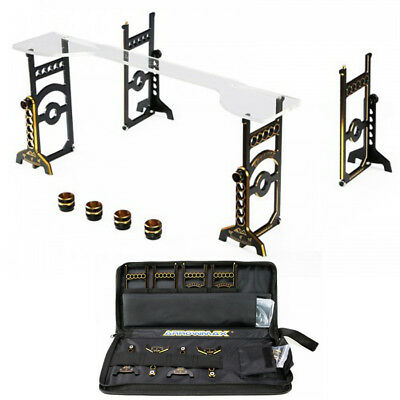 Arrowmax Set-Up System 1/8 Offroad & Truggy Cars Gold AM 171042 incl. Bag