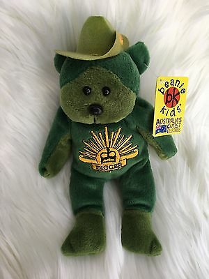 BK264 - Digger The Bear Beanie Kid
