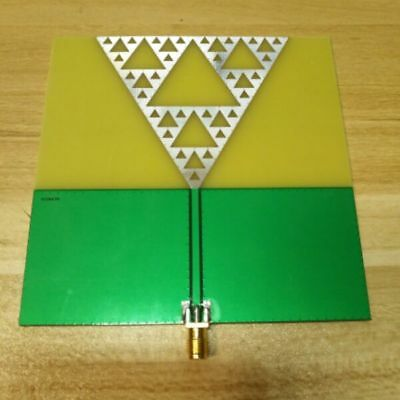 NEW 1PC Radio frequency antenna UWB antenna fractal antenna art antenna