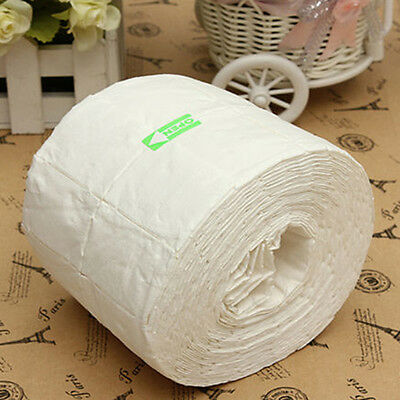 500pc Rolle Cotton Nail Art Wipes Manicure Polish Remover Reiniger Pads