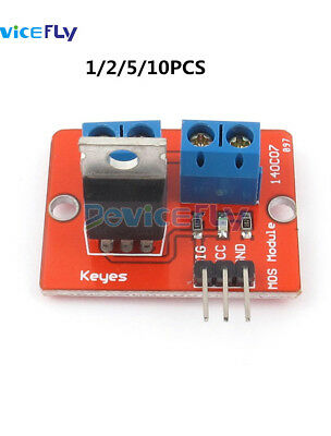 1/2/5/10PCS IRF520 MOSF Button MOSFET Driver Module for Arduino ARM Raspberry pi