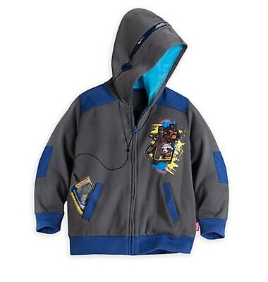 Disney Store Marvel Guardians of the Galaxy Boys Hoodie Coat Size 4 NEW Jacket