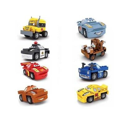 Cars Custom buildable Characters Includes Mater, Mrs Fritter, Cruz - Fits Lego