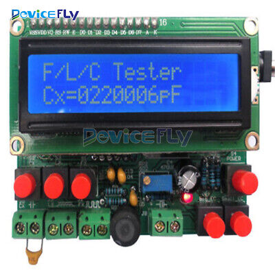 DIY Kit LED Capacitance Frequency Inductance Tester Meter Microcontroller