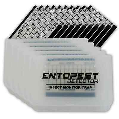 Entopest Crawling Insect Detector Monitoring Trap - Cockroaches Ants spiders etc