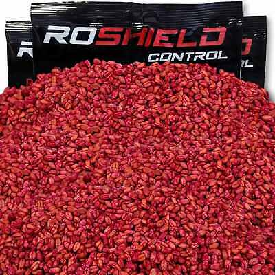 Strong & Fast Roshield Grain Wheat Rat & Mouse Rodent Poison Killer Control Bait