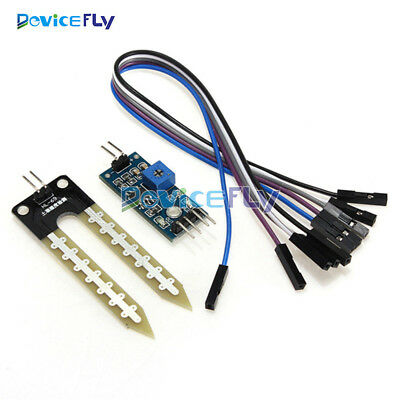 Soil Hygrometer Humidity Detection Module Soil Moisture Water Detect Sensor