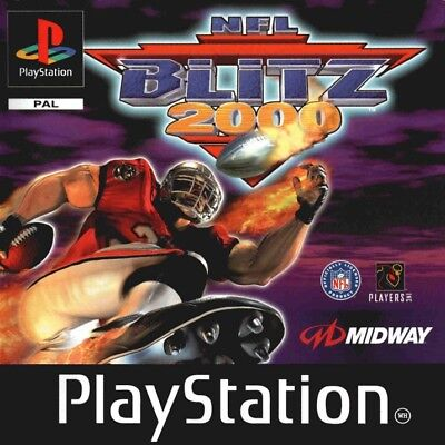 Playstation - PS1 PAL Game - NFL BLITZ 2000