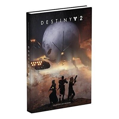 Destiny 2 Strategy Guide Collectors Edition Hardback Book Maps 9780744018486 NEW