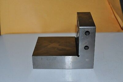 Machinist STEEL ANGLE BLOCK / reduced