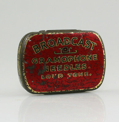 BROADCAST 'Loud Tone' Gramophone Needle Tin (NZ49)