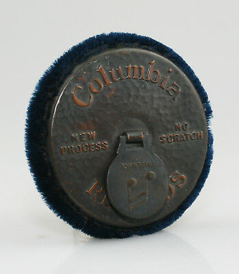 COLUMBIA Vintage Gramophone Record Cleaner / Duster (NZ51)
