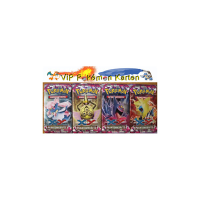1 Pokemon Booster Pack ***XY04 Phantomkräfte*** in deutsch  ==>     NEU & OVP