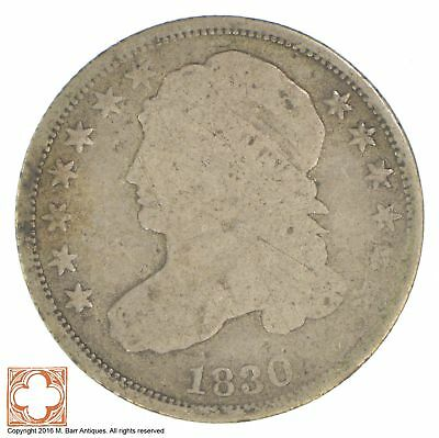 1830 Capped Bust Dime *XB76