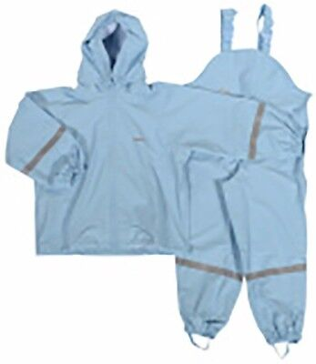 Kids Childs Toddler Baby Rainsuit Ocean Waterproof, dungarees & jacket age 2