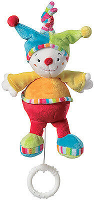 Baby Fehn 70's Stripes Mini Spieluhr Clown Pierre (Schuberts Lullaby)