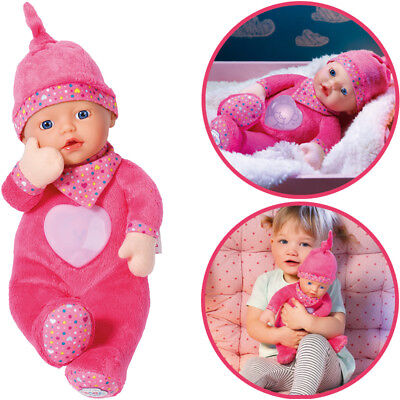 Zapf Creation Baby Born First Love Nightfriends Puppe (Pink)