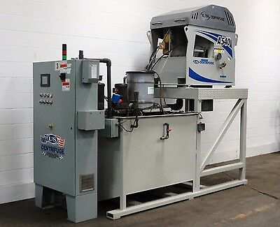 US Centrifuge A-540 Liquid/Solid Separating Centrifuge System - Used - AM13132
