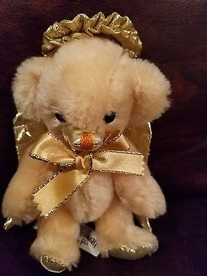 "Merrythought Bear Cheeky Angel LMT #36 of 250 6"" made England"