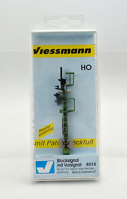 Viessmann Ho Scale 4014 Blocksignal With Advance Signal