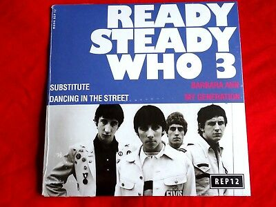 "The Who - Ready Steady Who 3 - Ltd Rsd 2017 7"" Vinyl Ep - New / Sealed"