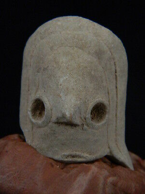 Ancient Teracotta Mother Goddess head Indus Valley 2000 BC  NO RESERVE  #TR15284