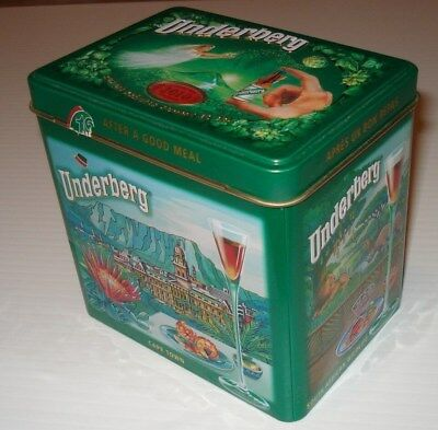 "Underberg 2010 Collection Edition Tin ""Cape Town"". Empty."