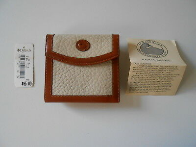 Vintage Dooney and Bourke All Weather Leather Wallet w/ Coin purse Never Used
