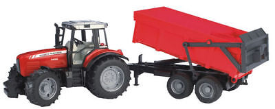 Bruder Massey Ferguson 7480 Tractor with tipping trailer 1:16