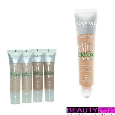 BOURJOIS Bio Detox Organic Concealer 8ml CHOOSE SHADE BJ102