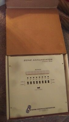 NEW 8 Zone Annunciator Security Alarm Transmitter Box Control Panel  # ZA-8
