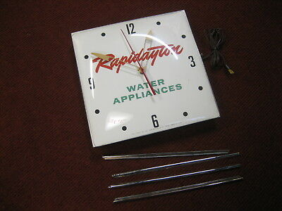 Square Pam Clock  restore or parts    1962