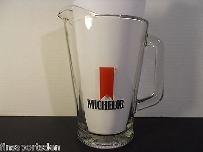 MICHELOB BEER Glass Advertising Pitcher