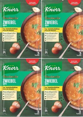 Knorr Gourmet Soup Mix: ONION Soup, 3 Portion Pack, 62g with Real Onion Pieces