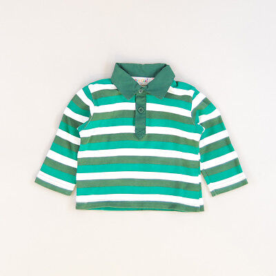 Polo color Verde marca Pick Ouic 6 Meses
