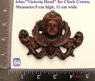 "64M ""Victoria Head"" clock case / furniture DIY"