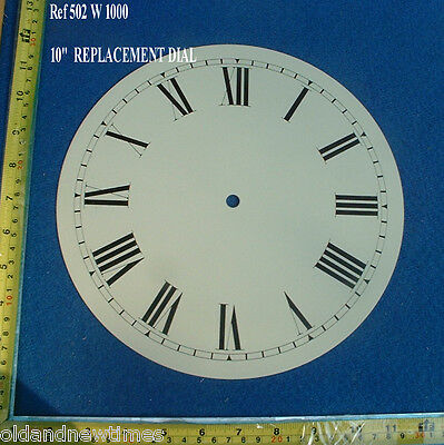 Replacement ALUMINIUM 10 Inch Dial for  Wall ClockS