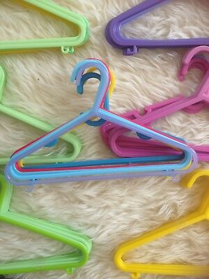 70 X Mixed Colour Baby Clothes Hangers Immaculate Comb P&p More Available! 99P