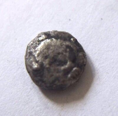 Greek Uncertain Silver Coin with Dolphin 5-4 BC