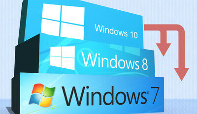 Windows 7/Windows 8/Windows 10/Professional/Windows Pro Key/DVD/COA/USB/Lizenz