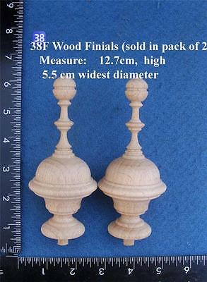*Pair of Clock / furniture Finials Style 38F