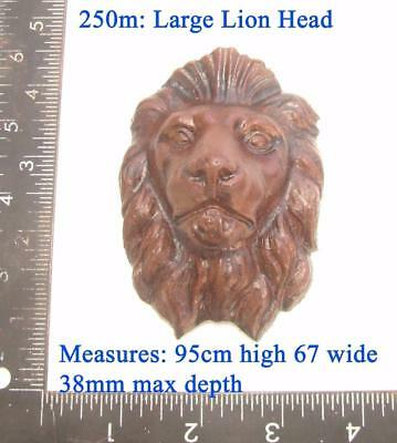 "250m  ""Large Lion head"" for Vienna regulator clock cases,  DIY,"