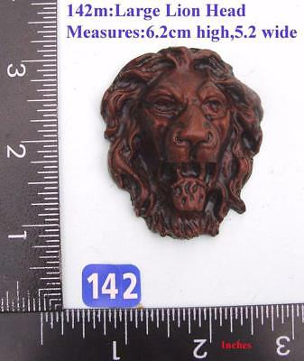 "TITLE: 142M ""Large Lion Head"" clock case / furniture DIY"