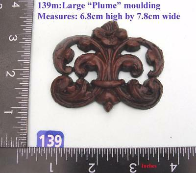 "TITLE: 139M ""Large Plume Badge"" clock case / furniture DIY"