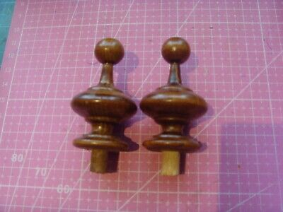 *Pair of Clock / furniture Finials Style 55F