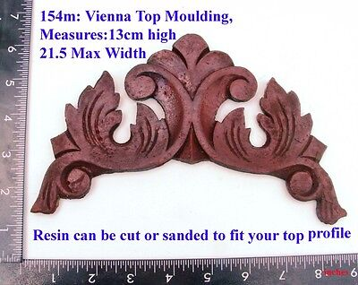 "154M ""Vienna top cresting""  clock case / furniture DIY"