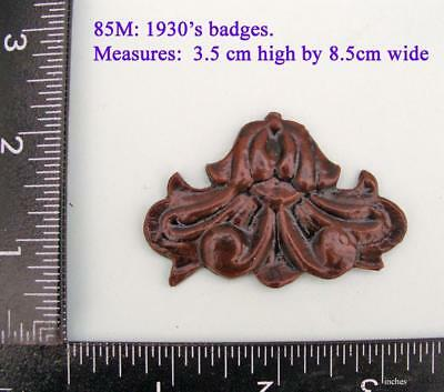 "TITLE  85M ""Deco style Badge"" clock case / furniture DIY"