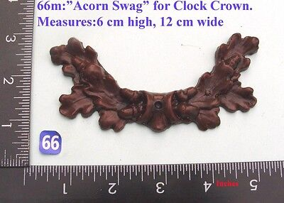 "66M ""Acorn Swag"" clock case / furniture DIY"